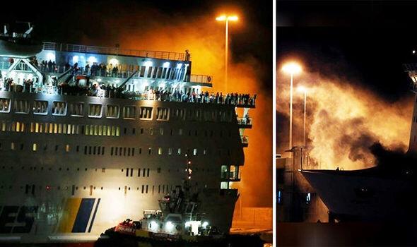 Fire emergency in Greece on Anek's ferry΄El Venizelos' – ΄ΕΛΕΥΘΕΡΙΟΣ ΒΕΝΙΖΕΛΟΣ΄: ΜΙΑ ΑΚΟΜΗ ΠΥΡΚΑΓΙΑ ΞΕΣΠΑΣΕ ΣΕ ΟΧΗΜΑΤΑΓΩΓΟ ΠΛΟΙΟ ΤΩΝ ΑΝΕΚ LINES